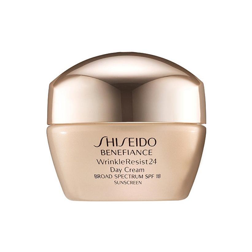 shiseido benefiance wrinkleresist24 day cream spf 18. Black Bedroom Furniture Sets. Home Design Ideas
