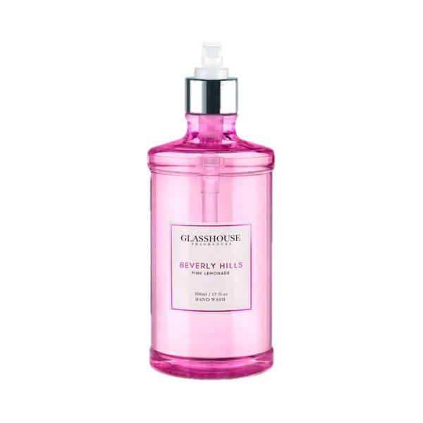 Glasshouse Fragrances Beverly Hills Pink Lemonade Hand Wash - 500ml