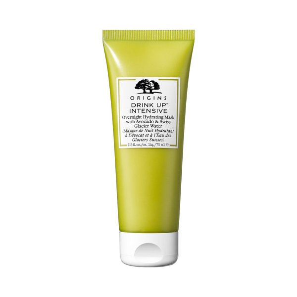 Origins Drink Up Intensive Overnight Hydrating Mask With Avocado & Swiss Glacier Water - 75ml