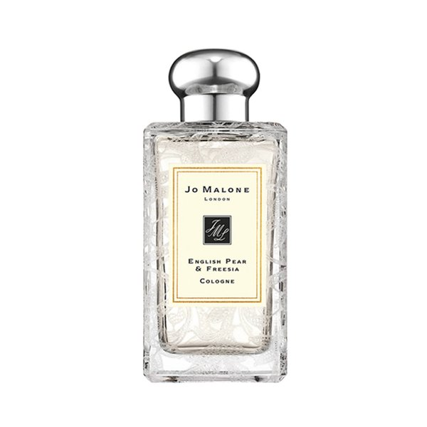Jo Malone English Pear & Freesia Cologne with Daisy Leaf Lace Design - 100ml