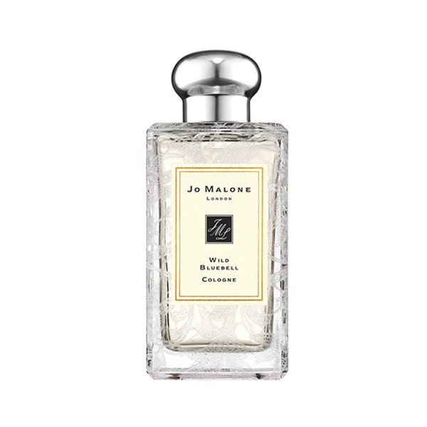 Jo Malone Wild Bluebell Cologne with Daisy Leaf Lace Design - 100ml