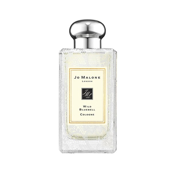 Jo Malone Wild Bluebell Cologne with Wild Rose Lace Design - 100ml