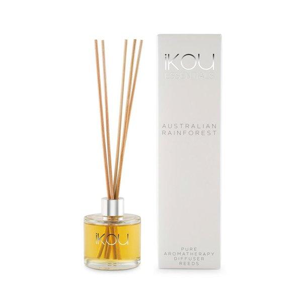 iKOU Essentials Mini Reeds Diffuser - Australian Rainforest, 50ml