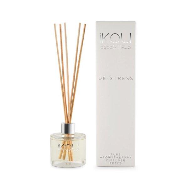 iKOU Essentials Mini Reeds Diffuser - De-Stress, 50ml