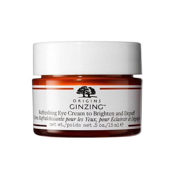 Origins GinZing Refreshing Eye Cream to Brighten and Depuff - 15ml