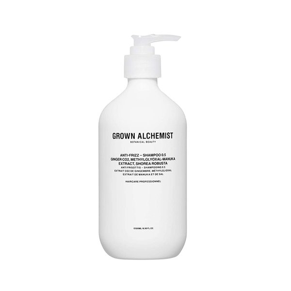Grown Alchemist Anti-Frizz - Shampoo 0.5 Ginger CO2, Methylglyoxal-Manuka Extract, Shorea Robusta - 500ml
