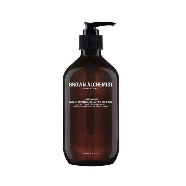 Grown Alchemist Hand Wash Sweet Orange, Cedarwood, Sage - 500ml