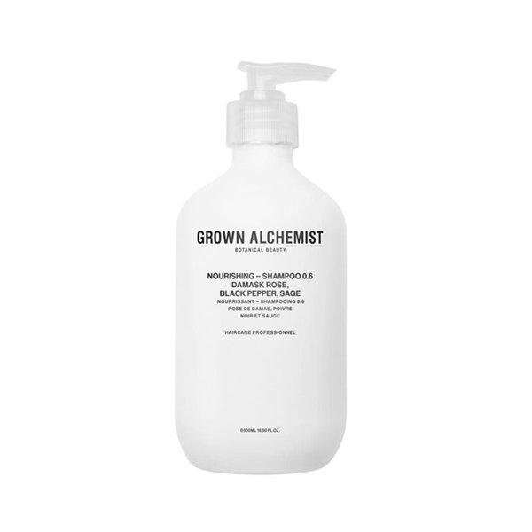 Grown Alchemist Nourishing - Shampoo 0.6 Damask Rose, Black Pepper, Sage - 500ml