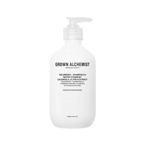Grown Alchemist Volumising - Shampoo 0.4 Biotin-Vitamin B7, Calendula, Althea Extract - 500ml