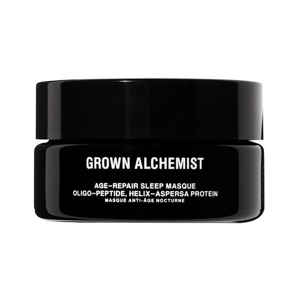 Grown Alchemist Age-Repair Sleep Masque Oligo-Peptide, Helix-Aspersa Protein - 40ml