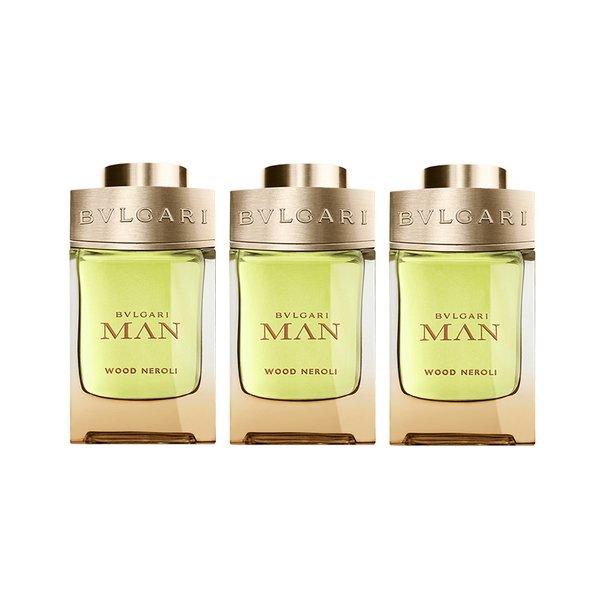 Bvlgari Mini Man Wood Neroli Eau de Perfume - 3 x 5ml