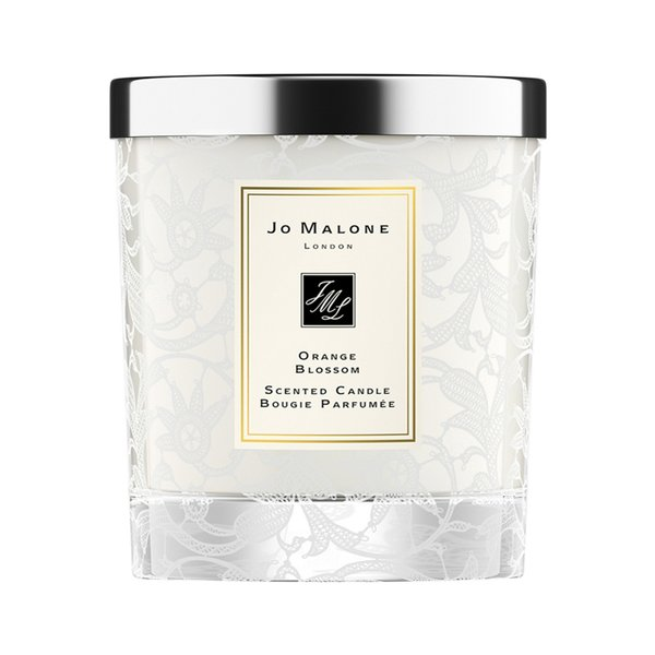 Jo Malone Orange Blossom Home Candle With Lace Design - 200g