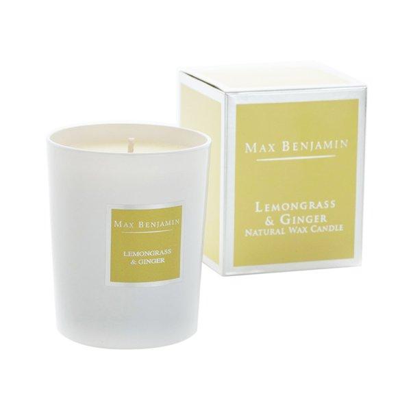 Max Benjamin Classic Candle - Lemongrass & Ginger 190g