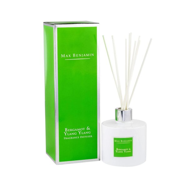 Max Benjamin Classic Fragrance Diffuser - Bergamot & Ylang Ylang 150ml