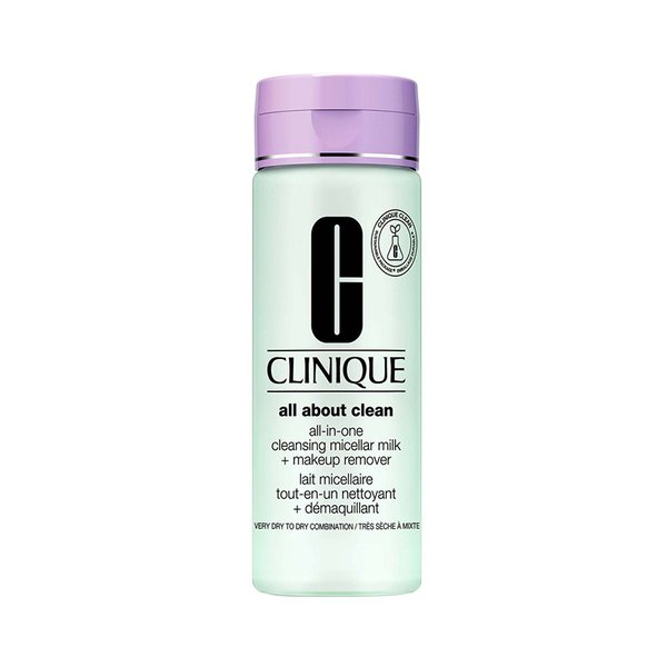 Clinique All About Clean All-In-One Cleansing Micellar Milk + Makeup Remover (For Dry Skin) - 200ml