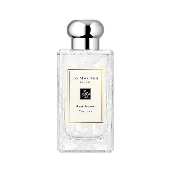 Jo Malone Red Roses Cologne with Daisy Leaf Lace Design - 100ml