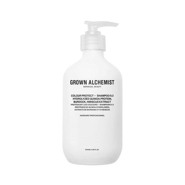 Grown Alchemist Colour Protect - Shampoo 0.3 Hydrolyzed Quinoa Protein, Burdock, Hibiscus Extract - 500ml