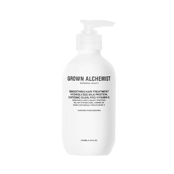 Grown Alchemist Smoothing Hair Treatment Hydrolyzed Milk Protein, Cationic Guar, Pro-Vitamin A - 200ml