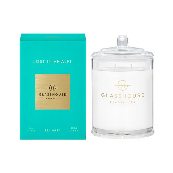 Glasshouse Fragrances Lost In Amalfi Soy Candle