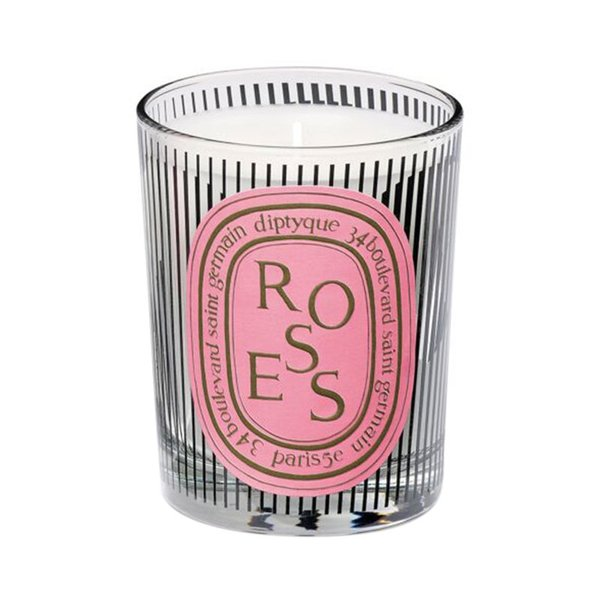 Diptyque Dancing Oval Roses Candle - 70g